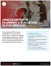 Data sheet Financiële Planning